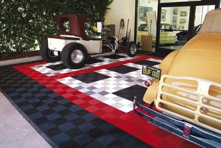 Fußboden Fliesen Garage ~ Garagenboden mit typ rip tec bodenfliesen