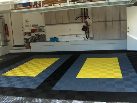 Rip-TEC Bodenfliesen in der Garage