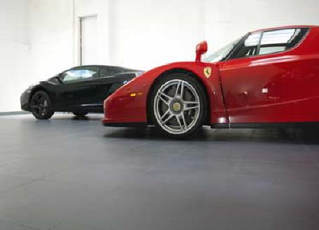Fußboden Fliesen Werkstatt ~ Wasserdichte pvc garagenfliesen typ h g