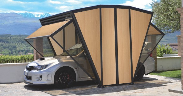 garage box die vielseitig nutzbare garage. Black Bedroom Furniture Sets. Home Design Ideas