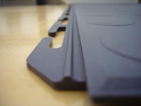 Wasserdichte PVC Garagenfliesen Typ HG - Industrie pvc fliesen