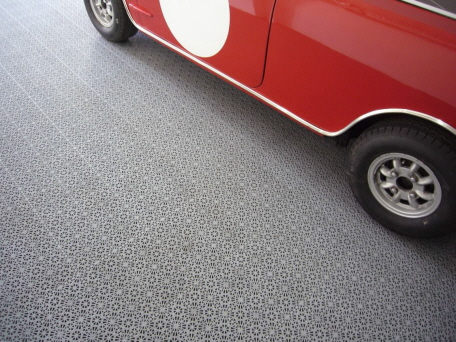 Bodenbelag Garage garagenboden mit belüftung und drainage